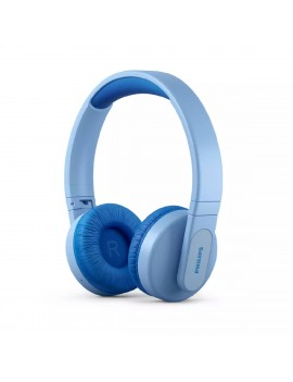Bluetooth Stereo Philips Kids TAK4206BL/00 V5.0 Blue On-ear Mic, Lighting, Control Button και Parents Control App