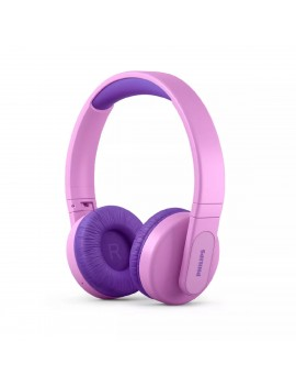 Bluetooth Stereo Philips Kids TAK4206PK/00 V5.0 Pink On-ear Mic, Lighting, Control Button και Parents Control App