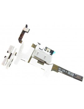 Jack Connector Apple iPhone 4S with Volume and Mute Button White OEM Type A