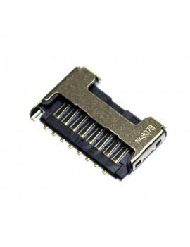 Memory Card Connector Samsung SM-B550H Xcover 550 Original 3709-001800