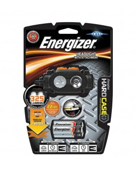 Energizer Hard Case Professional 325 Lumens with Batteries 3 x AA and 3 Light Modes. Black