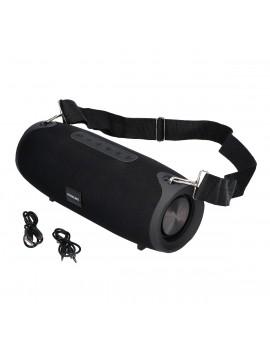 Wireless Speaker Bluetooth Maxcom MX216 Bandai 2Χ10W IP54 Black with Speakerphone, Audio-in, USB, MicroSD and Big Battery Capacity