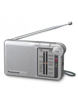 Portable FM Radio Panasonic RF-P150D 1W Silver with 3.5mm Jack Input