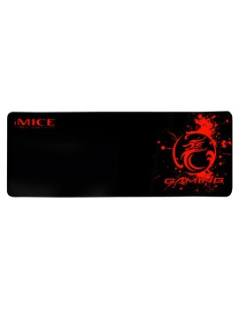 Gaming Mousepad iMICE Roll Red Dragon Non-Slip 770x295mm Black