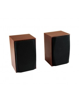 Wired Speakers Media-Tech WOOD-X MT3151 10W, USB,3.5mm Powered, Wooden Casing