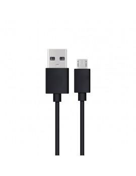 Data Cable Ancus USB AM to Micro USB B Black 20 cm