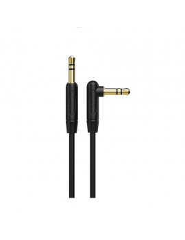 Audio Cable Borofone BL4 3.5mm Male to 3.5mm Male 2.0m. Black