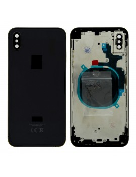 Battery Cover with Frame for Apple iPhone XS Max Black with Accessories OEM Type A