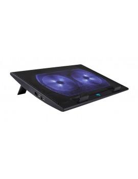 Laptop Cooler Media-Tech MT2659 Black for Laptop up to 17