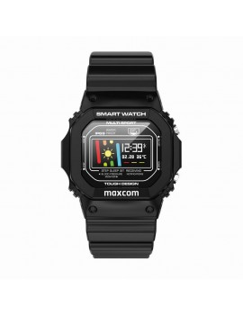 Maxcom Smartwatch FitGo FW22 Classic IP68 Black Silicon Band