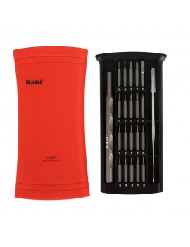 Metallic Tools Kaisi K-3022A with Extra Tweezer Red and Red Storage Box