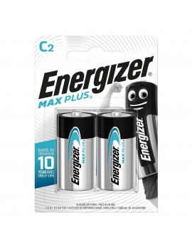 Battery Alkaline Energizer Max Plus LR14 size C Pcs. 2