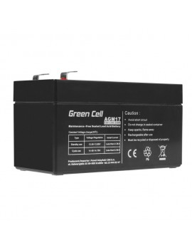 Battery for UPS Green Cell AGM17 AGM (12V 1.2Ah) 0.55 kg 97mm x 45mm x 57mm