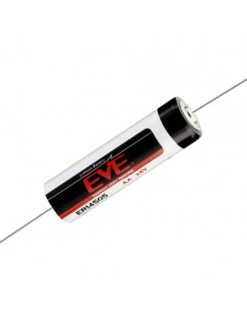 Lithium Βattery Eve CNA Lithium 14500 Li-ion 3.6V AA with Axial Cable