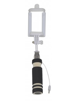 Selfie Stick Ancus Classic Mini Black with Jack Cable 3.5mm (Closed 13.5cm, with Extention 53.5cm )