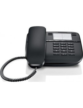Corted Telephone Gigaset DA310 Black