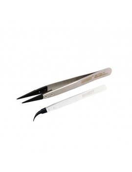 Tweezer T10 Jakemy JM-107-11 with extra double Curved Tips