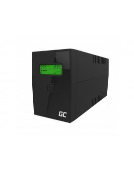 UPS Green Cell UPS01LCD Micropower 600VA LCD 12V/7Ah 360W 2x Schuko 298 x 101 x 142 mm