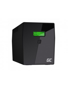 UPS Green Cell UPS04 Micropower 1500VA 12V/9Ah 900W 4x Schuko 380 x 158 x 198 mm