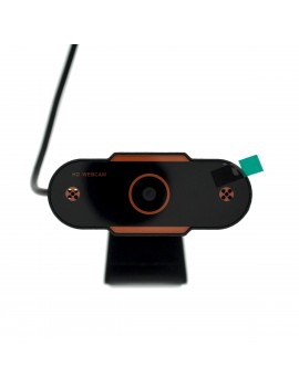 USB Webcam Mobilis PC04 Live Camera Full HD 1080P 1920X1080 with 2MP and Microphone Black