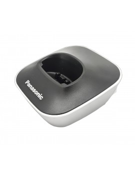 Charging Cradle for Dect Panasonic KX-TG1611 Black-White Bulk