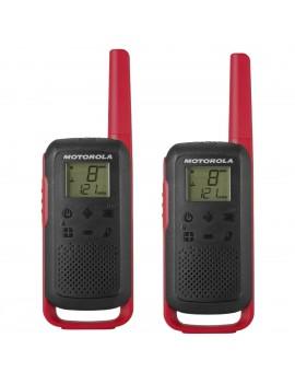 Walkie Talkie Motorola Go Discover PMR T62 Red. Coverage 8km