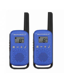 Walkie Talkie Motorola Go Live PMR T42 Blue. Coverage 4 km