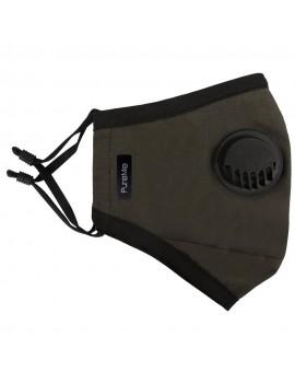 PureMe Reusable / Adjustable Mask Cotton 2 pcs N95 filters inside the package Olive